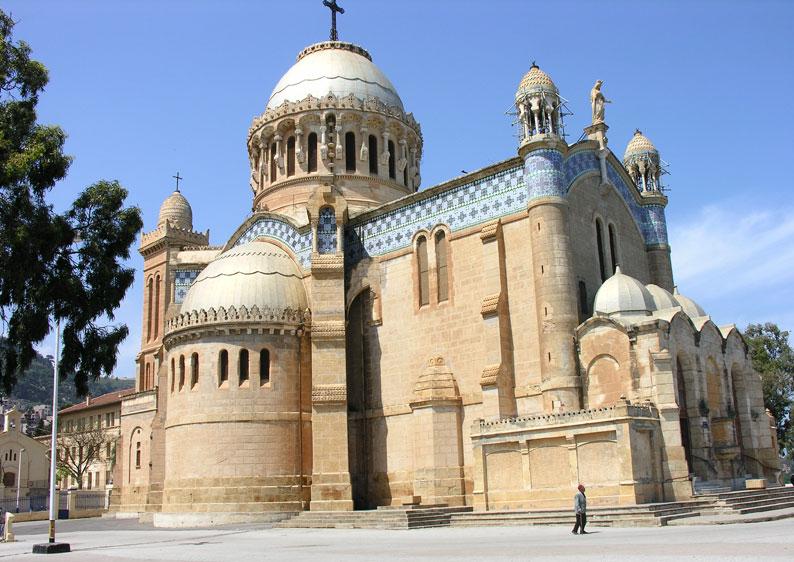 La Basilique Notre-Dame d'Afrique alger