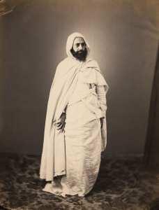 L'émir algérien Abdelkader en 1856