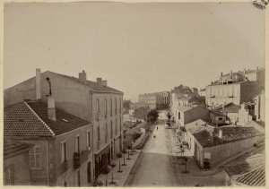 Constantine. Boulevard Victor Hugo (Photo rare)