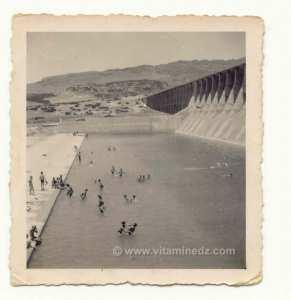 Le Barrage Beni Bahdel (période coloniale)