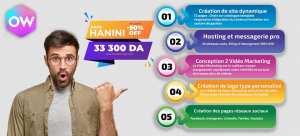 Création et référencement de site internet et vidéo a Oran