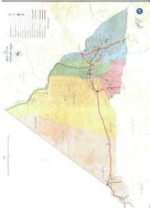 خريطة لولاية ادرار