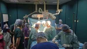 Premier prélèvement multi organes ( Reins et foie) en Algérie.