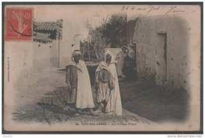 Le village nègre -Sidi Bel Abes, 1907