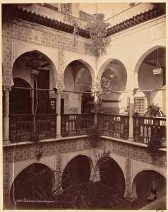 Intérieur mauresque [Alger] (Photo rare)