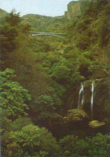 Pont et Cascades d'El Ourit (Tlemcen) Waterfalls شلال لوريط