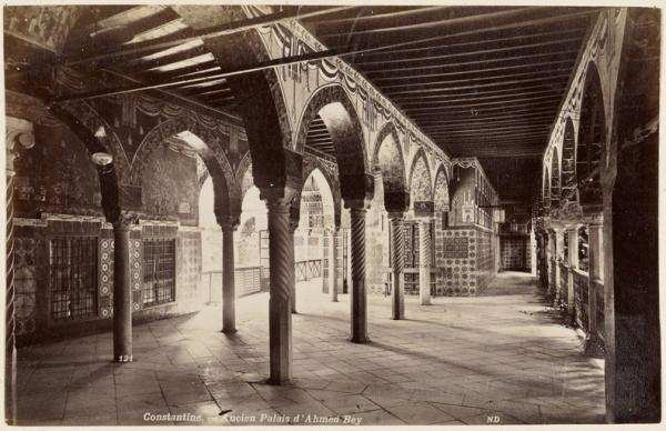 Constantine. L'ancien palais d'Ahmed Bey (Photo rare)