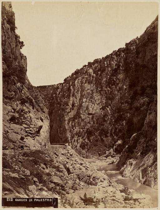 Gorge de Palestro (Photo rare)