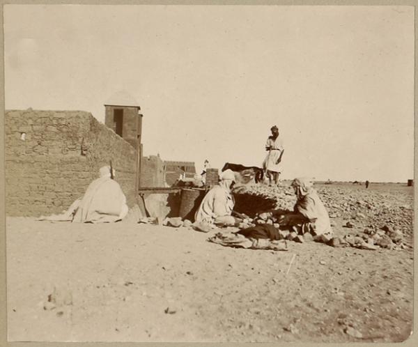 Porte d'Adrar (Photo rare)