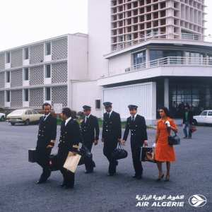 Air Algérie : Une photo emblématique du personnel navigant