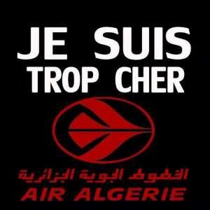 STOP AUX RACKETS D'AIR ALGERIE