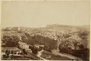 Constantine vu de la route de Sétif (Photo rare)