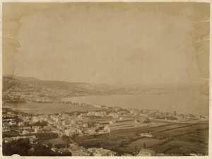 Panorama d'Alger. Vue prise de Mustapha supérieur (Photo rare)