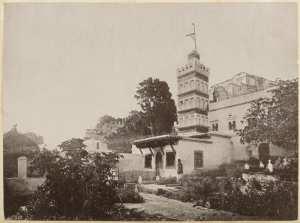 Mosquée Sidi-Aderamann Alger (Photo rare)