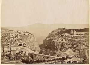 Pont d'El Kantara. Constantine (Photo rare)