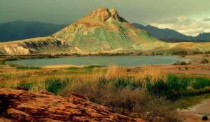Lac de Aïn Ouarka... !