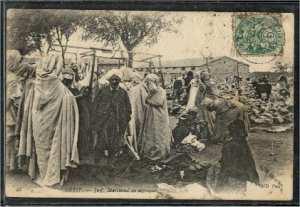 Marchand de Burnous juif à Sétif