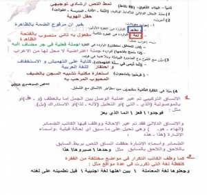 تصحيح امتحان العربية الموضوع 2 بكالوريا 2019 شعبة علمية