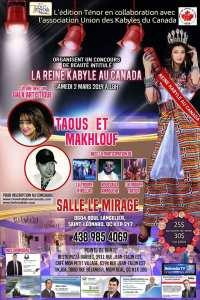 La Reine Kabyle au Canada
