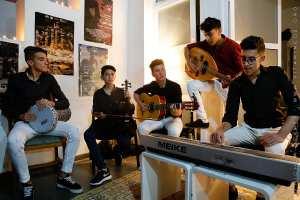 Tlemcen : jeunes musiciens de l'Association Culturelle