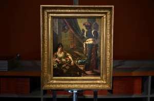 «Étude pour les femmes d'Alger»: un Delacroix retrouvé à Paris