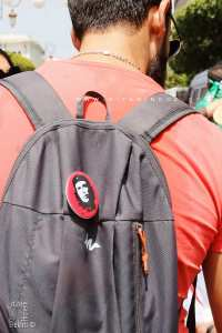 Le Che Guevara présent au Hirak d'Alger ... en pin's