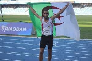 l'athlète algérien Mohamed Belbachir a remporté la médaille d'or de l'épreuve du 800m, des Jeux mondiaux universitaires qui se passent à Naples.