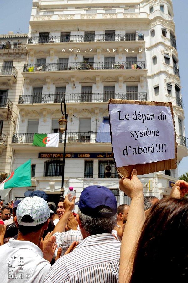 Système Dégage ... le slogan fédérateur du Hirak Algérien