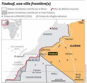 "Tindouf (""la Moelleuse"" en berbère)"