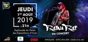 Raina Rai en concert à Oran