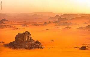 Le sahara, le désert le plus chaud au monde... !