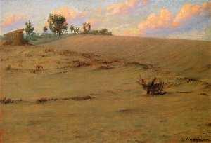 Alexander Harrison (1853 - 1930), Beach Shadows (ca. 1900)