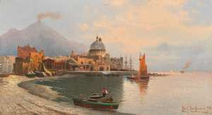 Karl Kaufmann (1843 - 1901), Torre del Greco (1894)