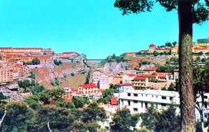 حي القنطرة بمدينة قسنطينة حوالي 1969