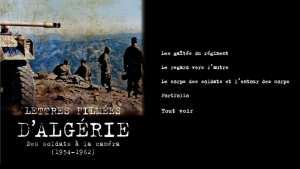 ALGÉRIE, DES SOLDATS À LA CAMÉRA