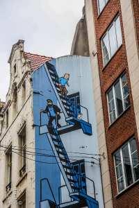 Tintin habitait bruxelles mais a-t-il un jour visité l'Algérie?