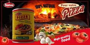 Tomates triturées très pratique Pour votre Pizzéria