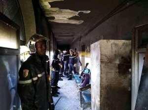 Une triste nouvelle de bon matin, un grave incendie à l'hôpital d' El Oued qui a causé la mort de 10 bébés et d'autres blessés.