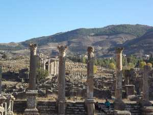 Les ruines romaines de Djemila