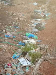 جمع نفايات البلاستكية