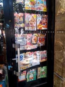 Revues en vente à la Librairie Ibn Khaldoun de Tlemcen
