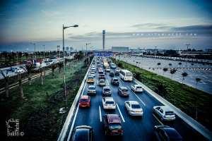 Alger et ses embouteillages ... une belle ville stressante