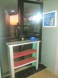 Toilettes de la station de service de Yellel (Autoroute Est Ouest)