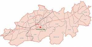 Wilaya de Blida : Carte des sites et monuments historiques et patrimoine culturel