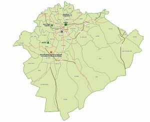 Wilaya de Tiaret : Carte des sites et monuments historiques et patrimoine culturel