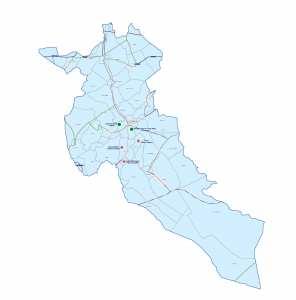 Wilaya de Djelfa : Carte des sites et monuments historiques et patrimoine culturel