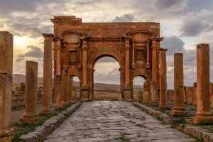 Timgad la Rome africaine