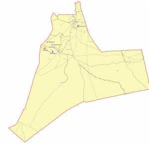 Wilaya de Ouargla : Carte des sites et monuments historiques et patrimoine culturel