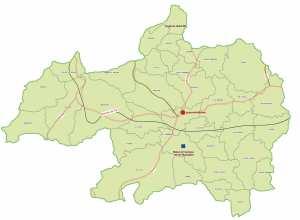 Wilaya de Bordj Bou Arerrij : Carte des sites et monuments historiques et patrimoine culturel