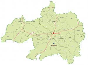ولاية برج بوعريريج : خريطة المواقع التاريخية والآثار والتراث الثقافي